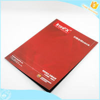 Good quality Customized Colorful Softcover spanish recordable book