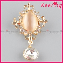 top quality flower fashion crystal brooches WBR-1625