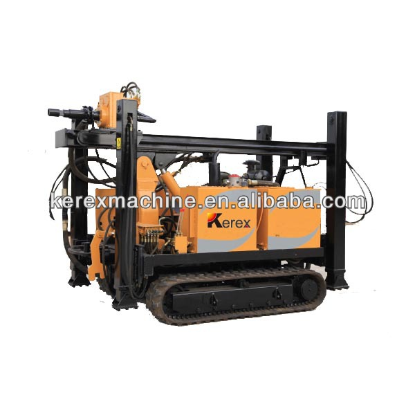 rotary crawler water well drilling rig machine XFD200 for sale