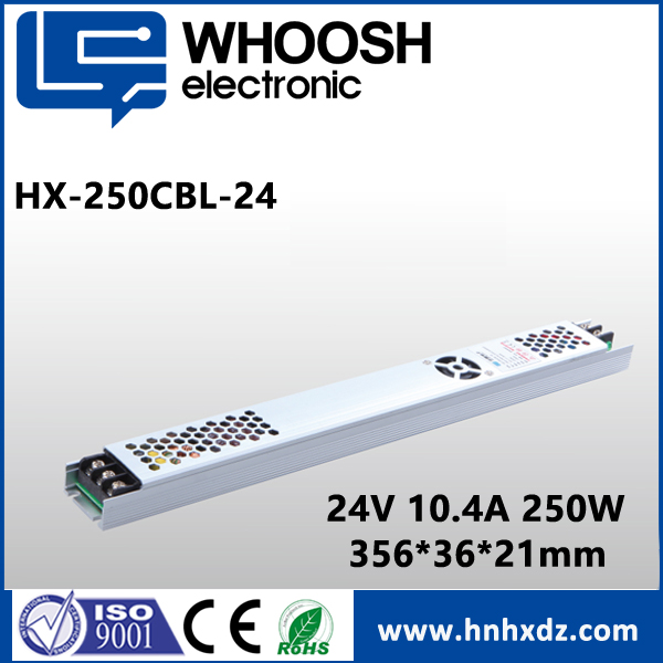 AC 220V DC 24V MINI Slim LED BULB DRIVER, 24V 10A 250W LED Power Supply