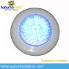 12V Super thin surface mounted swimming pool LED light with plastic rim