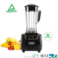 Commercial stainless steel manual home appliances Non-slipping rubber feet Plastic salad blender