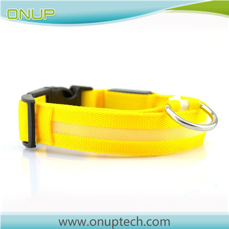 Factory OEM invisible electronic in ground dog training shock collar flash led collars for wholesales