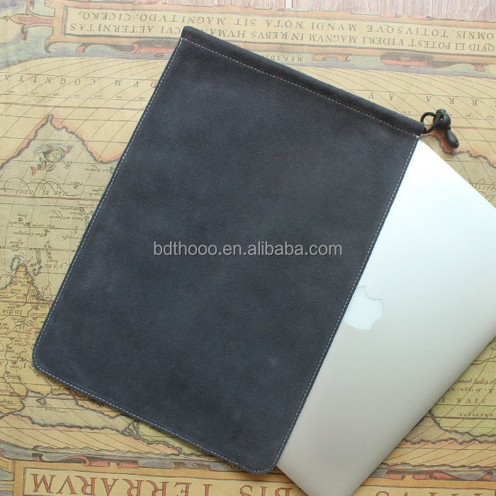 good design custom soft touch genuine leather tablet sleeve case waterproof laptop
