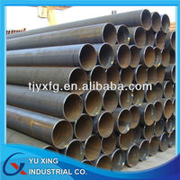 seamless black carbon steel pipe sch80 astm a106 stocks