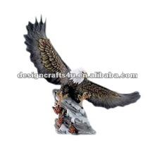 polyresin eagle figurine