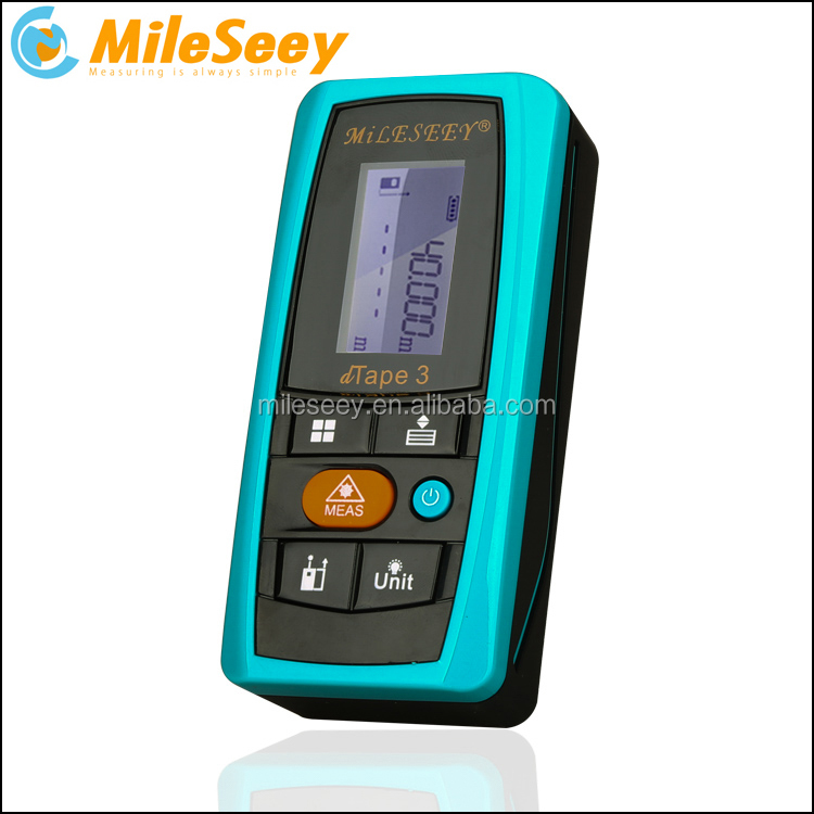 Mileseey D3 Wholesale Digital Mini Portable 40m/43yd/120in/131ft <strong>Laser</strong> Distance Measuring Meter 40m