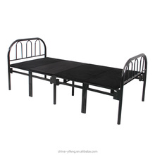 metal single folding bed on Jeddah market