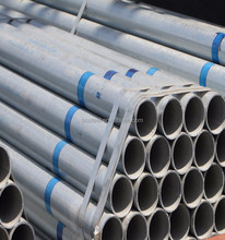 Structure Pipe Hot Rolled Round Thick Wall Pipe ERW Q195 Q235 Schedule 40 galvanized steel pipe specification