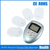High Quality Body slimming Massager Tens Acupuncture Digital Therapy Machine Massager with 4 pcs Electrode
