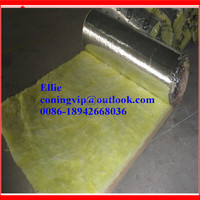 Glass wool blanket/fiber glasswool insulation/glasswool roof thermal building materials