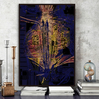Abstract painting gallery custom handmade prints modern abstract art work