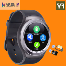 Best Selling Y1 Bluetooth Smart Watch Mobile Phone Dz09 Sport Band Sim Kids V8 Ce Rohs Wear U8 Factory Wholesale