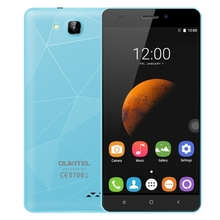Original Free Sample Dropshipping OUKITEL C3 8GB mobile phone 3G unlocked 2G cell smartphone Free Shipping Blue