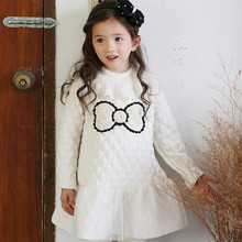 Made In China Winter Flower Girl's Winter Fashion Dresses