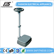 2015vibration plate exercise machine of whole body vibration machine butterfly shape with CE ROHS and GS