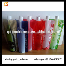 Small order is welcome /375ml 750ml Plastic Foldable Wine Bottle Bag for Liquor