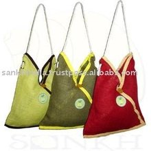Jute Bags designer ladies bag with long handle stylish design easy to carry