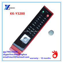 ZF Black+Red 32 Keys KK-Y3200 Remote Control for KONKA liquid crystal television and PDP plasma television with CR2025 Battery