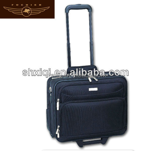 laptop business trolley case for pilot