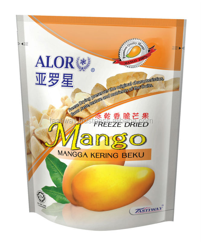 Freeze Dried Tropical Mango