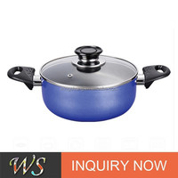 WS-DA0209 High Quality Non-stick Coating Soup Pan