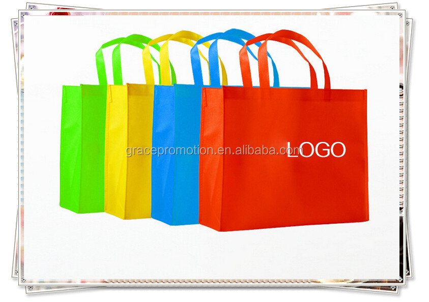 Eco Friendly Customized wholesale non woven shopping bag with logo for promotion