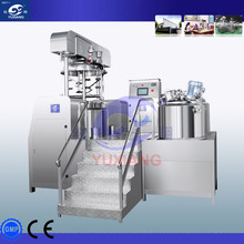 High Speed Shear Glass Reactor Cosmetic High Shear Homogenizing Dispensing Vessel Conventional