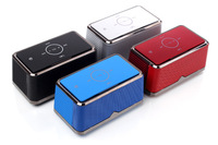 New arrival A8 portable 3D stereo bluetooth speaker, touch screen mini speaker and wireless speaker