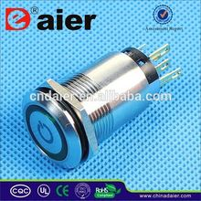 Daier waterproof on off push button switch
