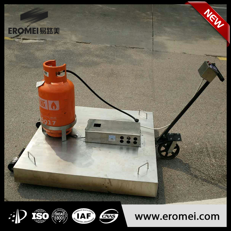 Hot selling infrared asphalt heater for road maintenance