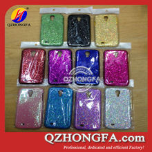 Bling Bling Glitter PU leather Case for samsung galaxy s4 i9500