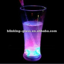 LED Flashing pilsen glass