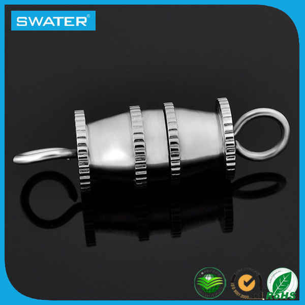 Jewelry Finding Stainless Steel Screw Clasp For Bracelet And Necklace