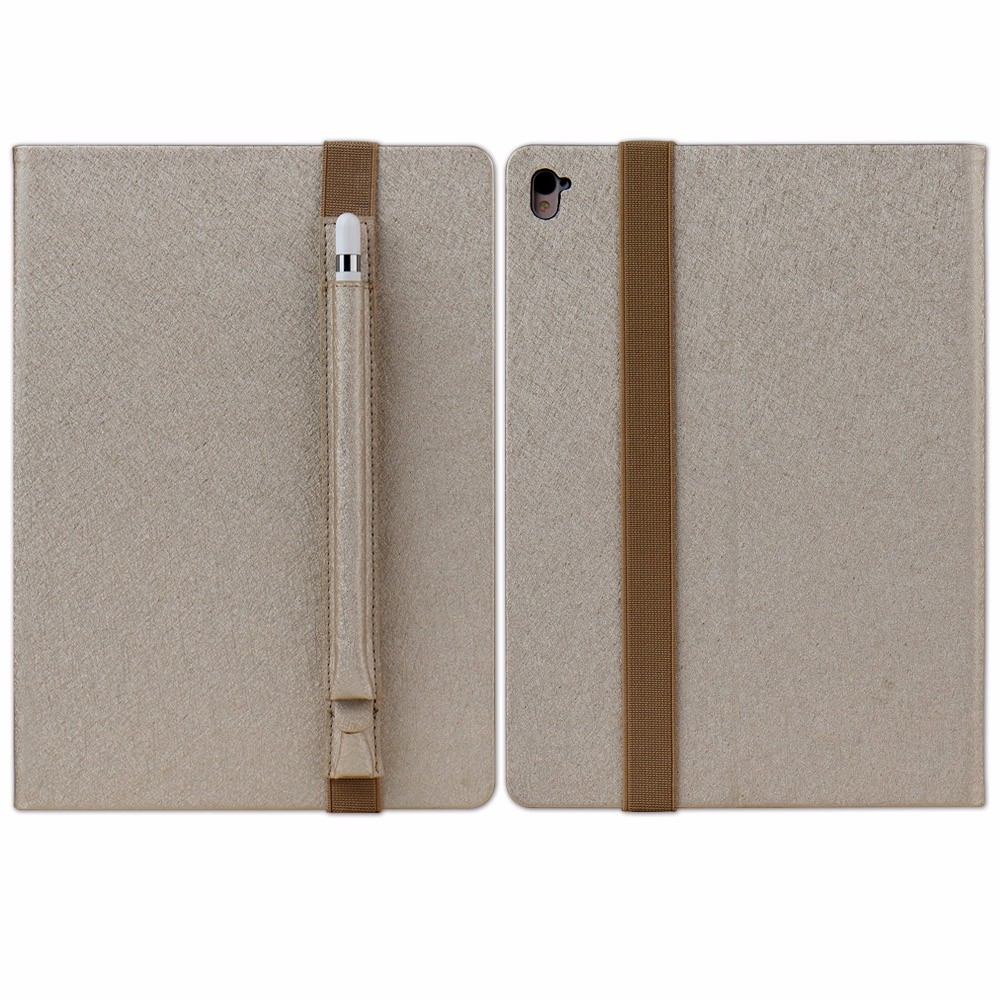 PU leather Smart Tablet Cover Case for iPad Air Pro 9.7 with Pen Holder