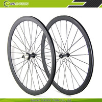 wholesale full fiber carbon wheels road 38mm 700c clincher for bicycle wheelset