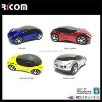 Vehicle Model Wireless Optical Car Shape USB Computer Mouse --MW7003