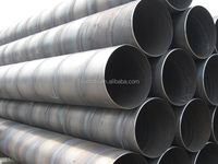 spiral welded steel pipes for tubo de acero seaside construction