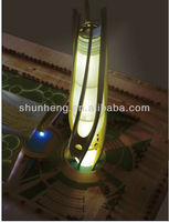 new product miniature building model with lighting for Dubai