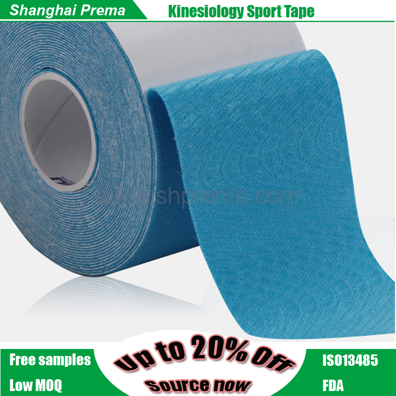 2016 new Design Cheapest serviceable hot-sale kinetic muscle tape Bottom price professional precut athletic kinesiology tape