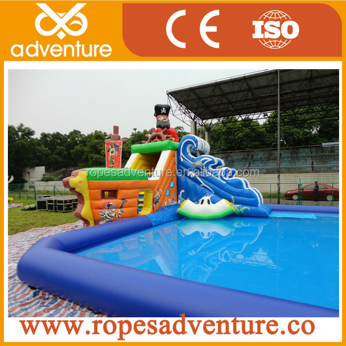 2015 New Pirate Captain Theme Water Park,Inflatable Course