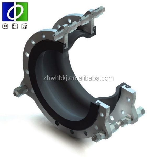 high pressure single bellow rubber expansion joints