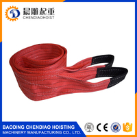 Polyester Weight Lifting Sling, Wire Clamp Sling