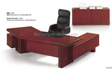 2014 Suodi classic office furniture cherry solid wood executive desk