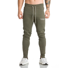 2017 new style teens fitness strecthy cotton grey wholesale men harem pants