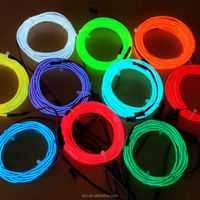 fashionable EL wire lighting glasses for performance and holiday