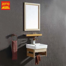 Brand ceramics wall mounted bathroom vanity furniture washbasin bathroom mirror cabinet made in China