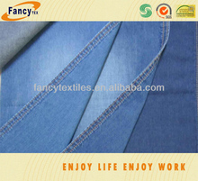 100% cotton light weight jeans fabric for shirt