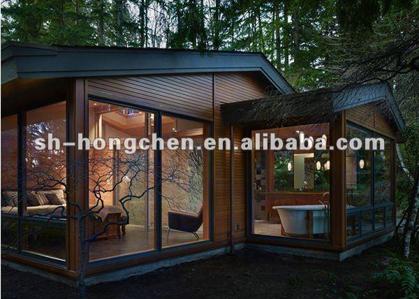 Neuen stil villa container holzhaus fertighaus fertighaus for Villa container