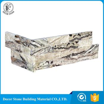 hot sale & high quality nature stone corner sink stacked panel
